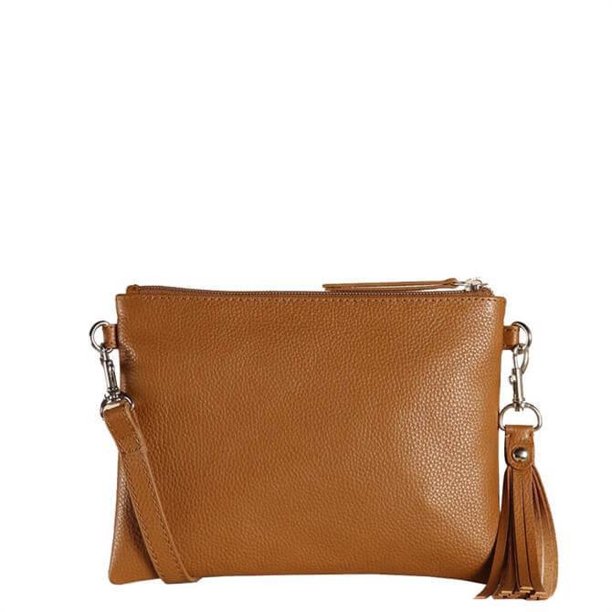 Hill & How Tan Hetty Cross Body Bag