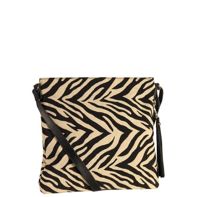 Hill & How Rosa Zebra Stripes Cross Body Bag