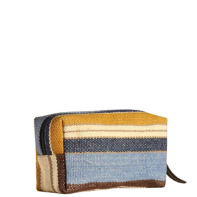 Hill & How Clare Striped Cosmetic Bag