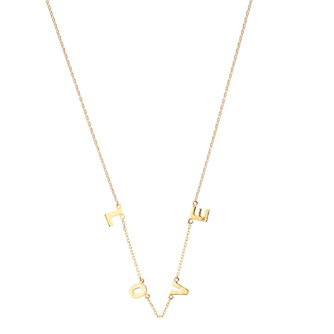Hultquist Love Letter Necklace