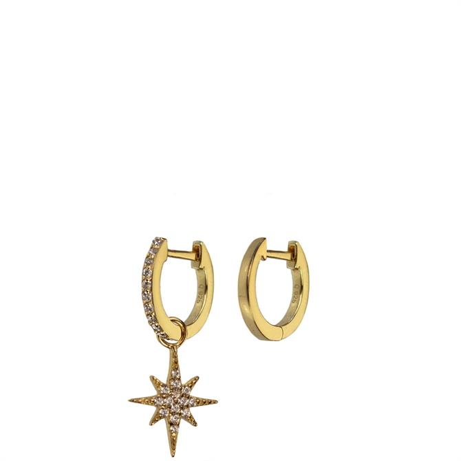 Hultquist Northern Star Sterling Silver Earrings