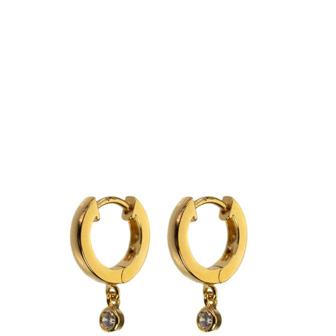 Hultquist Edina Gold Hoop Earrings