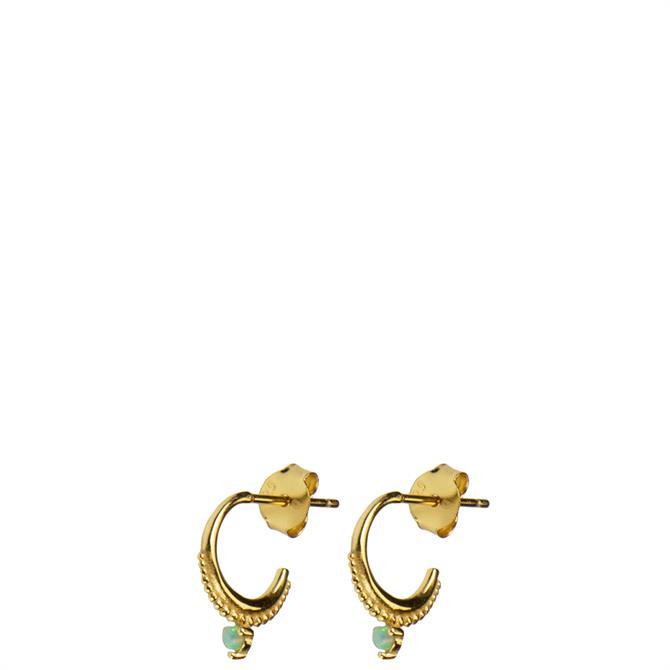 Hultquist Daria Gold Hoop Earrings