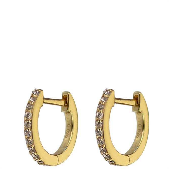 Hultquist Esta Sterling Silver Hoop Earrings