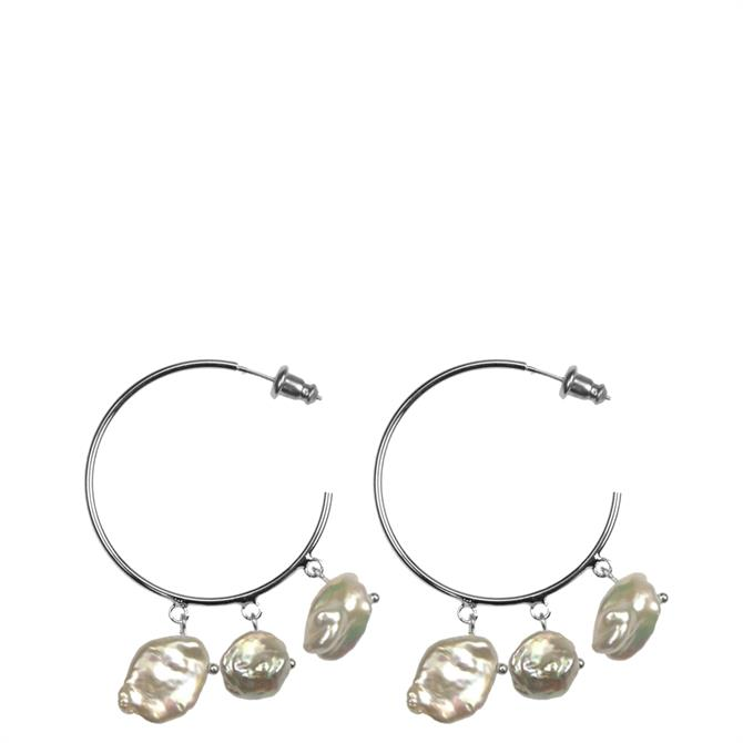 Hultquist Sea Treasure Hoop Earrings