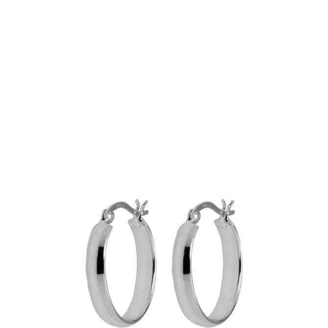Hultquist Tasi Sterling Silver Hoop Earrings