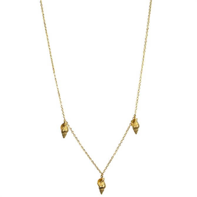 Hultquist Conch Gold Necklace