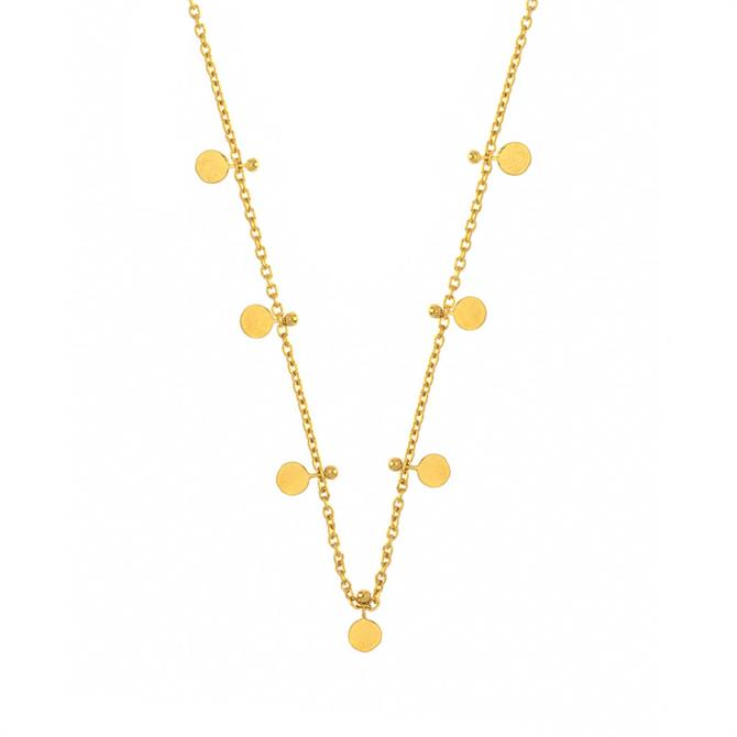 Hultquist Mini Coin Gold Necklace