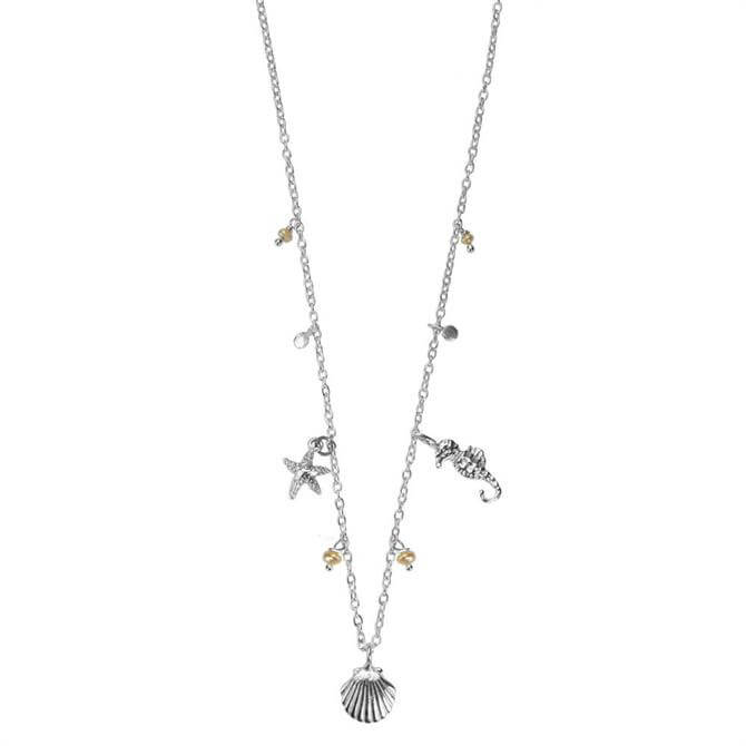 Hultquist Under the Sea Silver Necklace