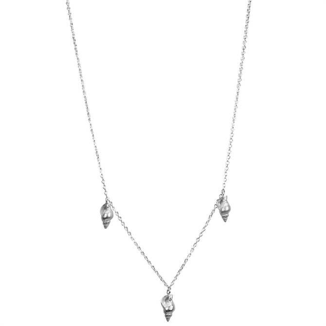 Hultquist Conch Silver Necklace