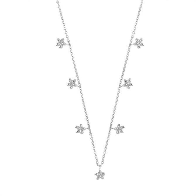 Hultquist Flora Sterling Silver Necklace