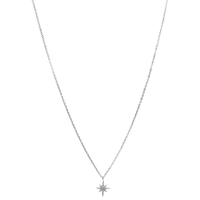 Hultquist Northern Star Sterling Silver Necklace