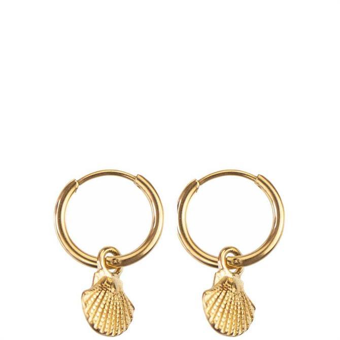 Hultquist Shell Hoop Earrings
