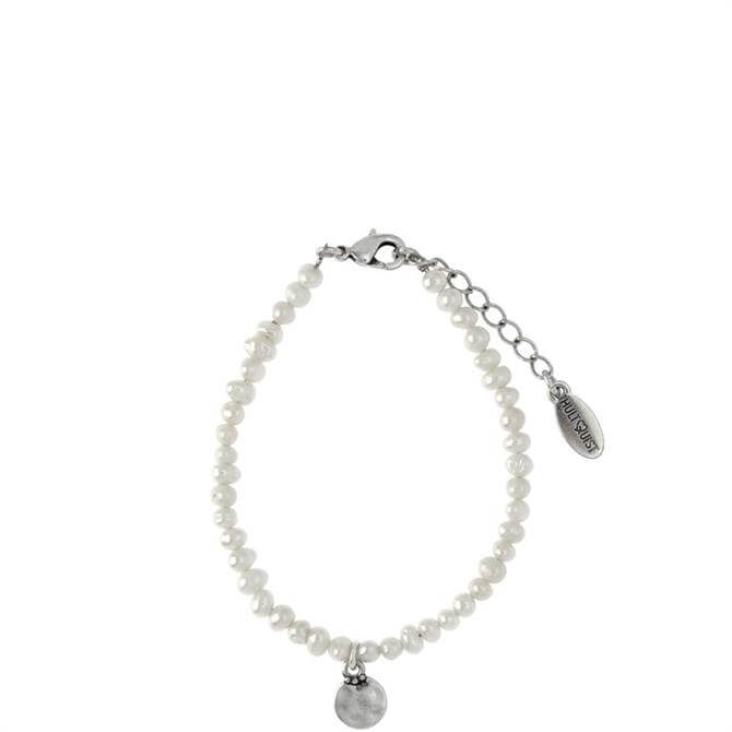 Hultquist Silver Coin Bracelet