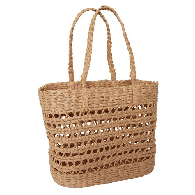 Ichi Natural Straw Beach Bag