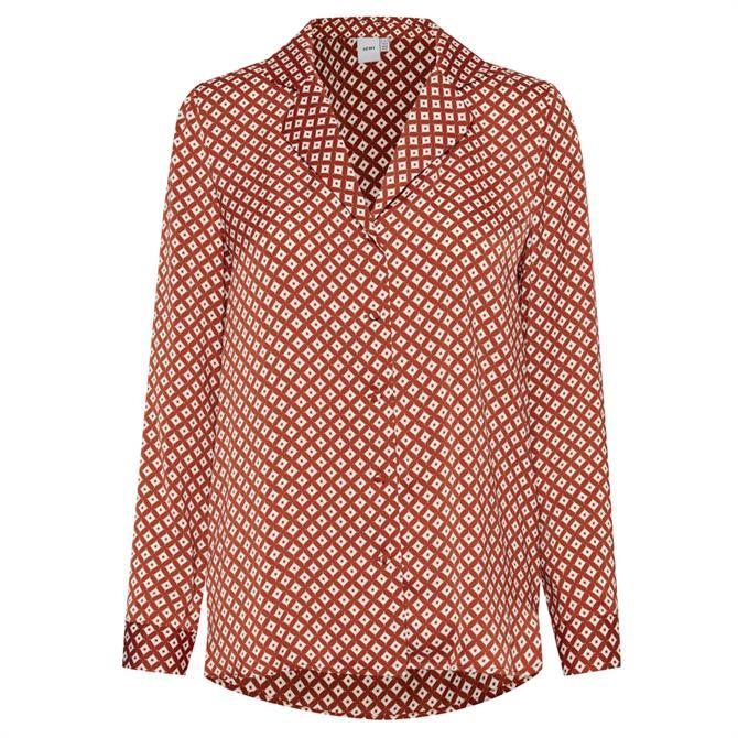 Ichi Accante Pattern Shirt