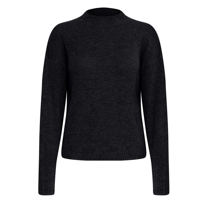 Ichi Amara High Neck Knitted Jumper