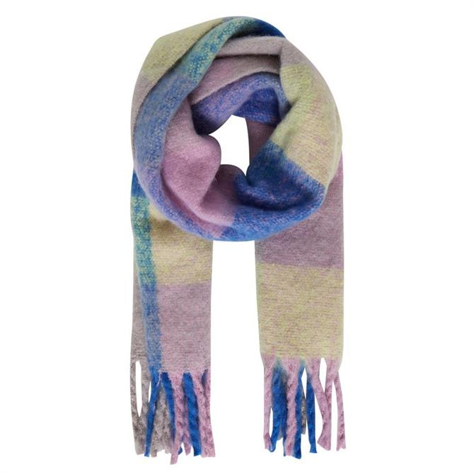 Ichi Colby Check Scarf