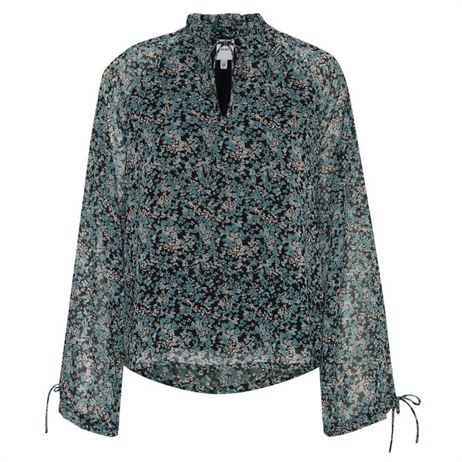 Ichi Hizzie Ditsy Floral Blouse
