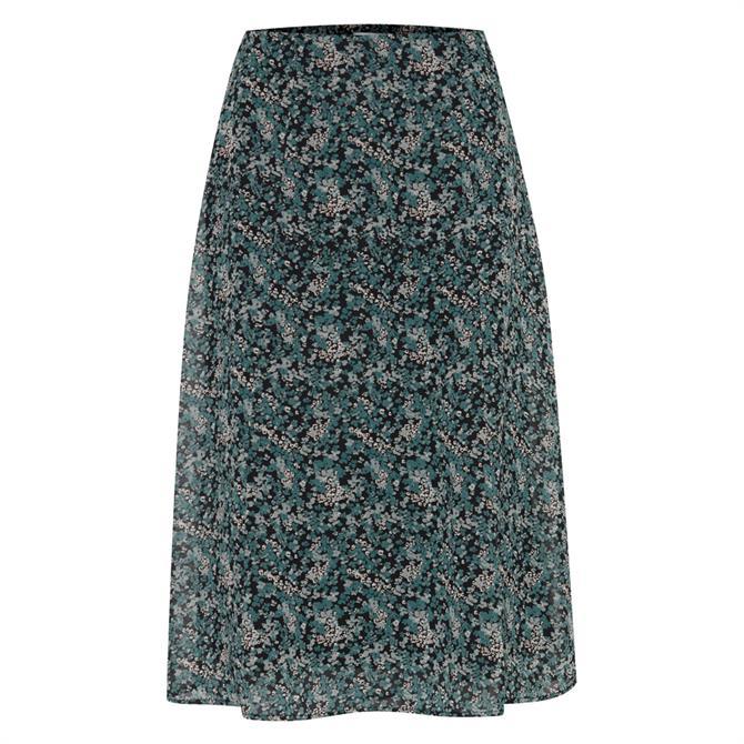 Ichi Hizzie Ditsy Floral Skirt