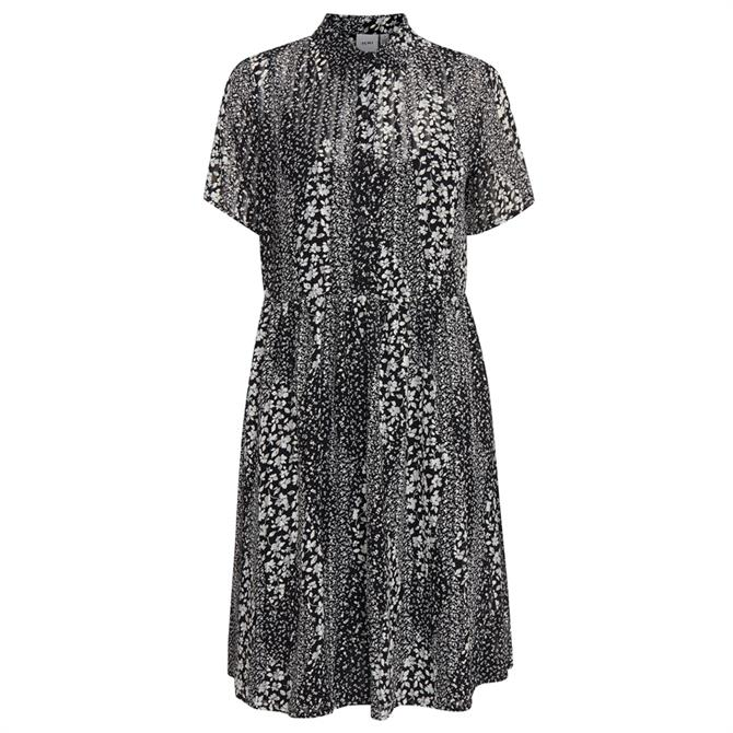 Ichi Hetty Floral Shirt Dress