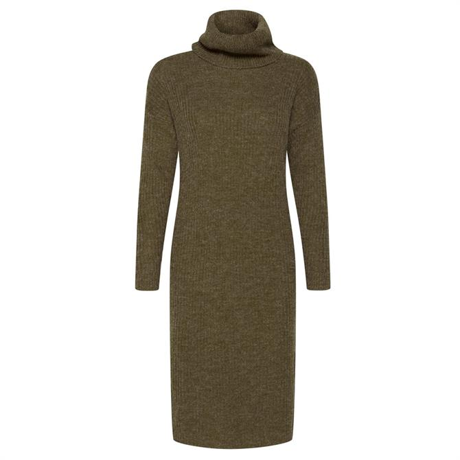 Ichi Ihnovo Roll Neck Knit Dress