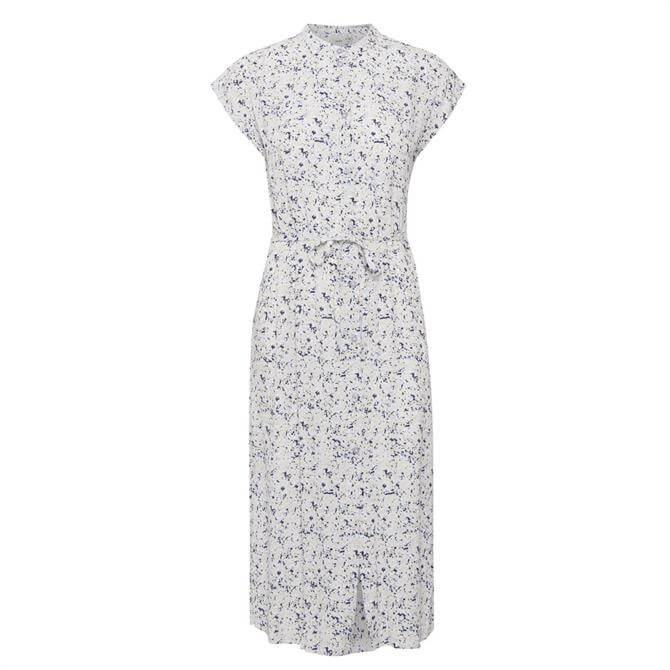 Ichi Ihvinna Patterned Cap Sleeve Dress