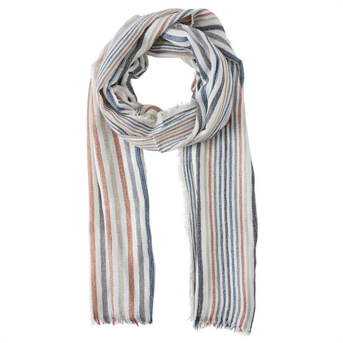 Ichi Mixed Striped Scarf