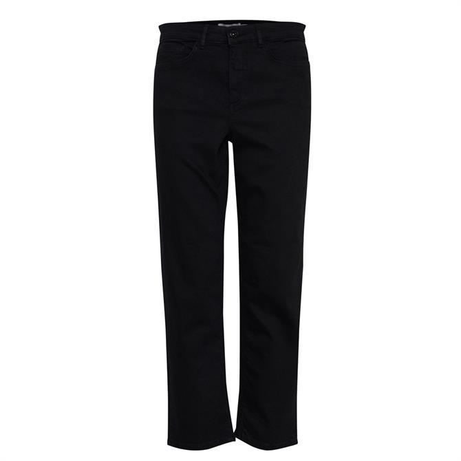 Ichi Twiggy Straight Crop Jeans