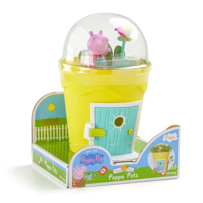 Peppa Pots Growing Peppa Pig Set