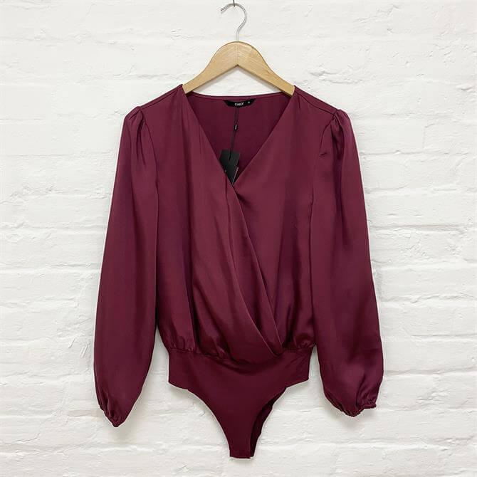 ONLY Satin Royal Bodysuit