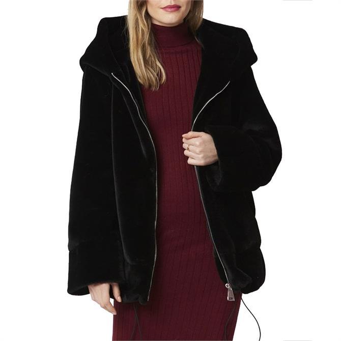 Jayley Oversized Faux Fur Jacket