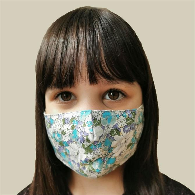Childrens Reusable Cotton Face Mask with Filter Pocket