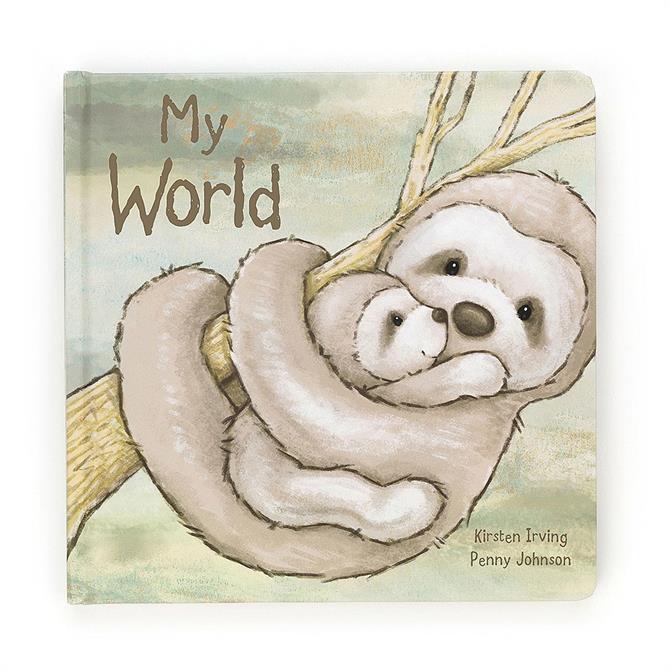 Jellycat My World Sloth Book