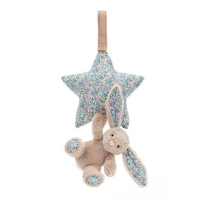 Jellycat Blossom Bunny Musical Pull Toy