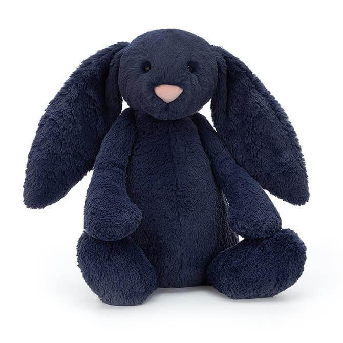 Jellycat Bashful Navy Bunny Huge
