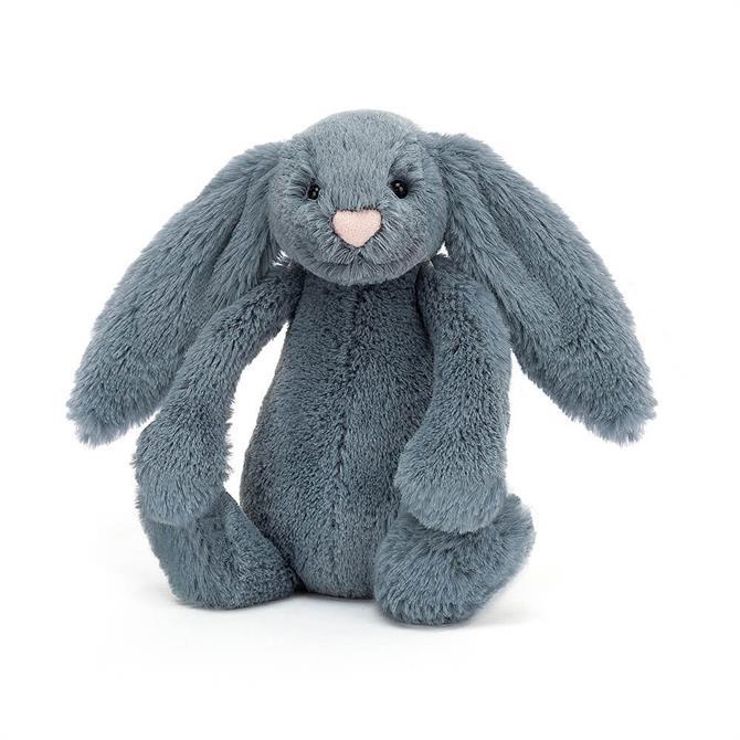 Jellycat Bashful Dusky Blue Bunny Small