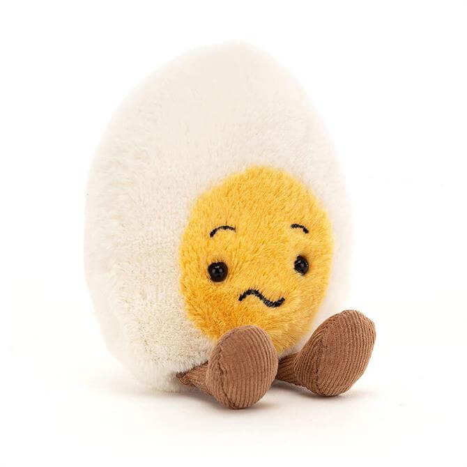 Jellycat Confused Boiled Egg