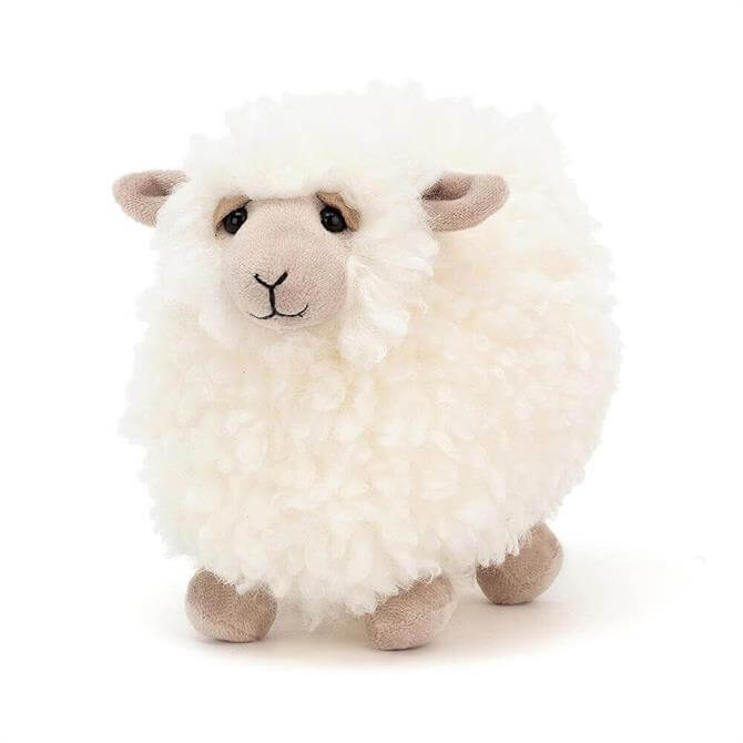Jellycat Rolbie Cream Sheep Small