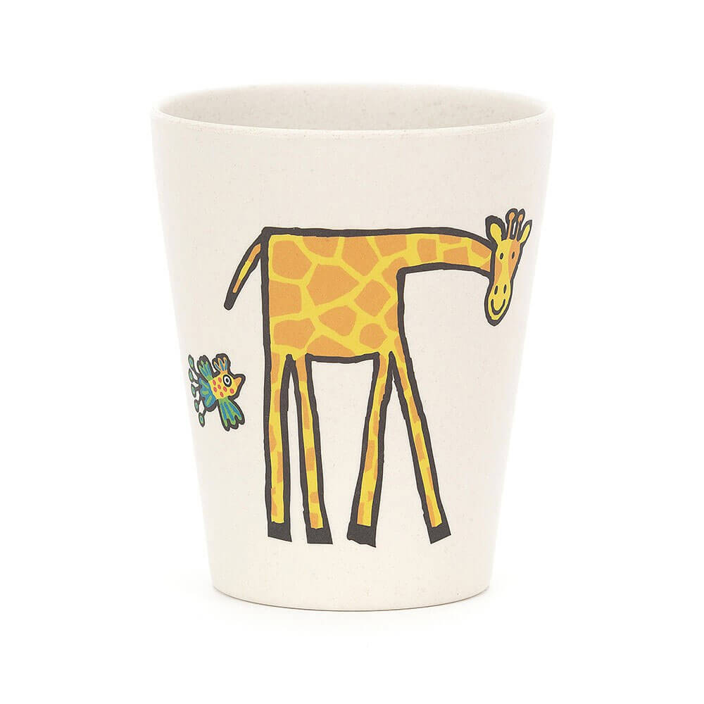 An image of Jellycat Jungly Tails Bamboo Cup
