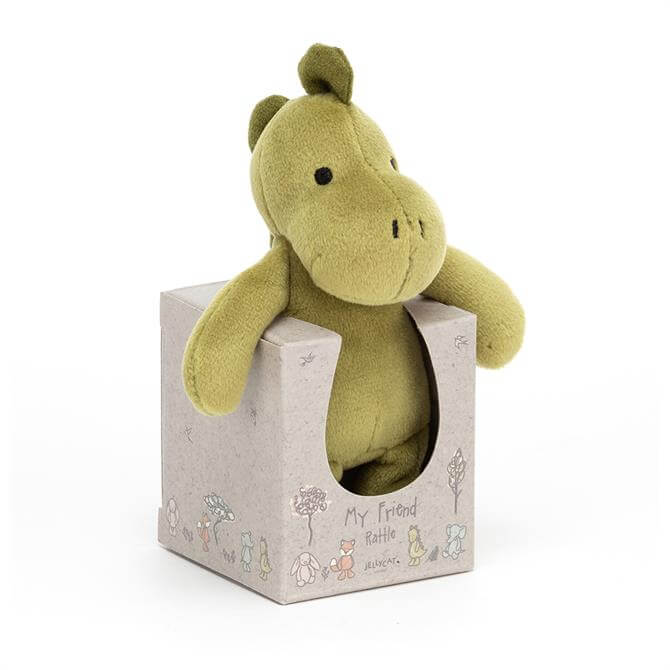 Jellycat My Friend Dino Rattle