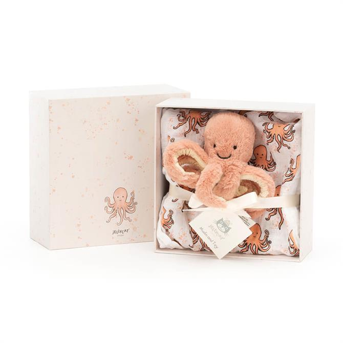 Jellycat Odell Octopus Baby Gift Set