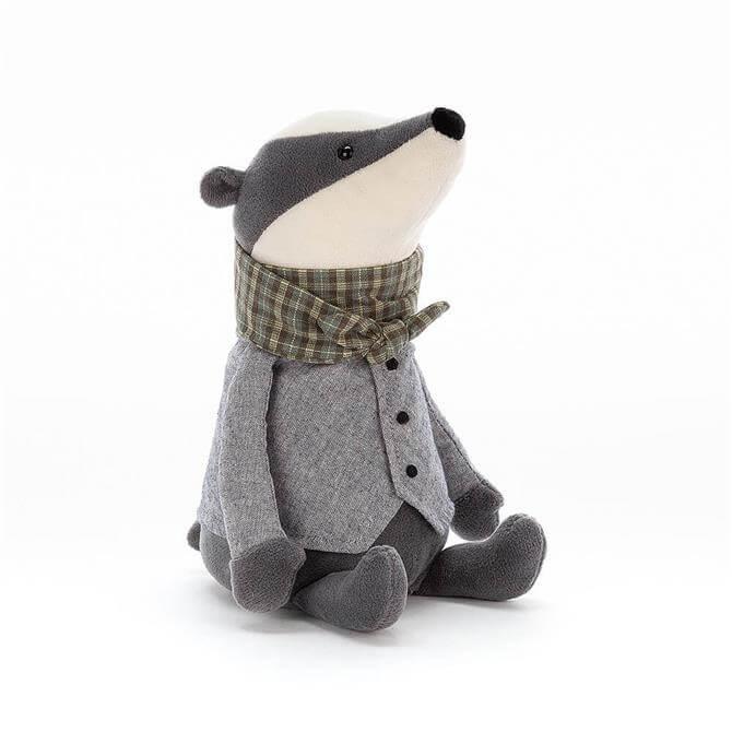 Jellycat Riverside Badger