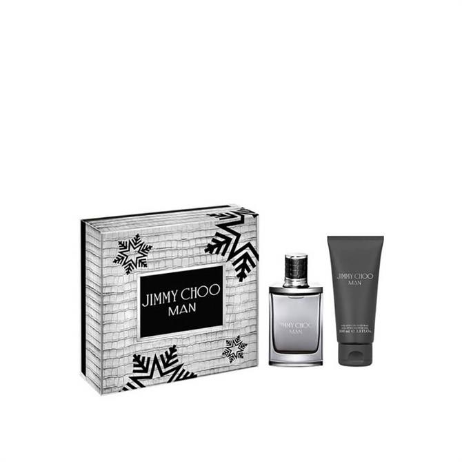 Jimmy Choo Man 50ml Eau De Toilette & Showergel 100ml Gift Set