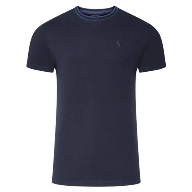 Jockey Navy Pure Cotton T-Shirt