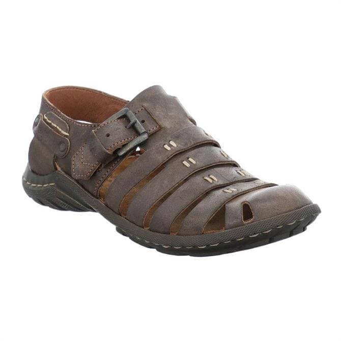 Josef Seibel Logan 04 Leather Sandals