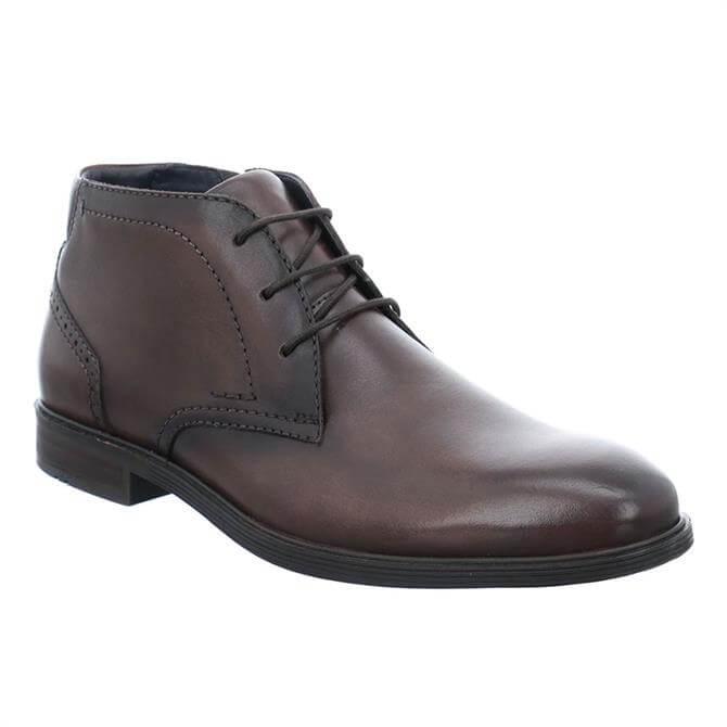 Josef Seibel Jonathan 18 Leather Lace Up Boots