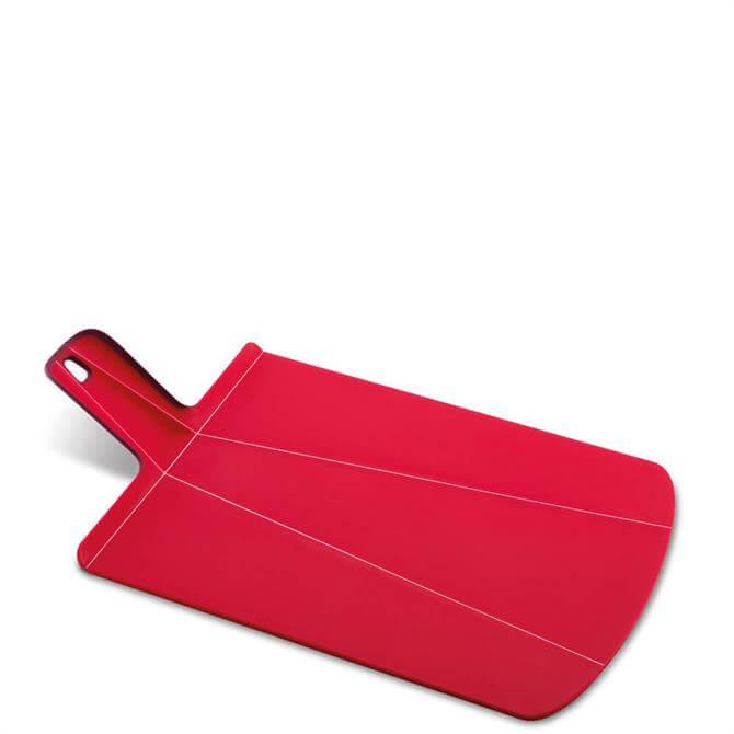Joseph Joseph Red Large Chop2Pot™ Plus Folding Chopping Board