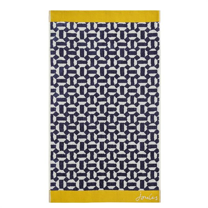 Joules Honeycomb Geo Towel