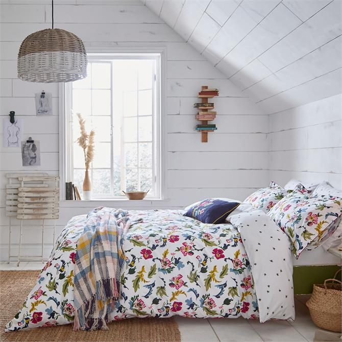 Joules Cambridge Garden Floral Duvet Cover Set